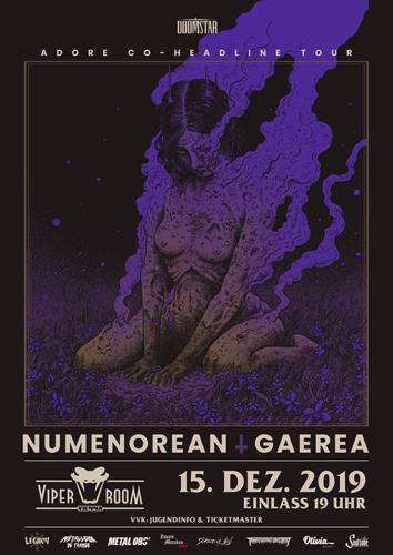 Live: NUMENOREAN, GAEREA