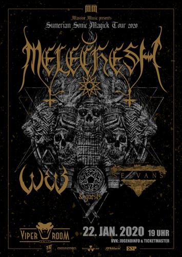 Live: MELECHESH, W.E.B., SELVANS