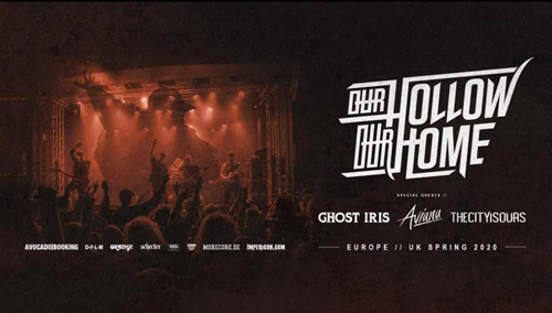 ABGESAGT!! OUR HOLLOW OUR HOME, GHOST IRIS and more