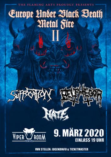 Live: SUFFOCATION, BELPHEGOR, HATE