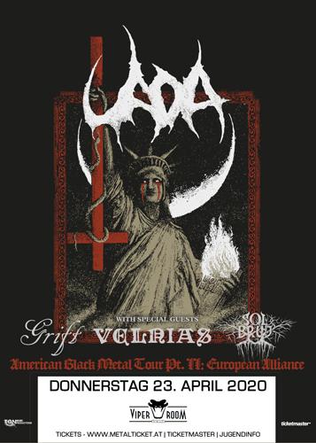 Live: UADA, VELNIAS, GRIFT, SOLBRUD