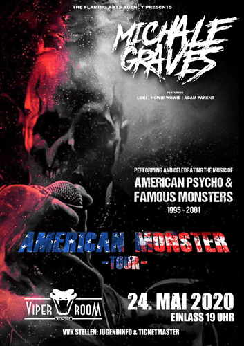 VERSCHOBEN AUF 21.3.2021 - MICHALE GRAVES and Supports