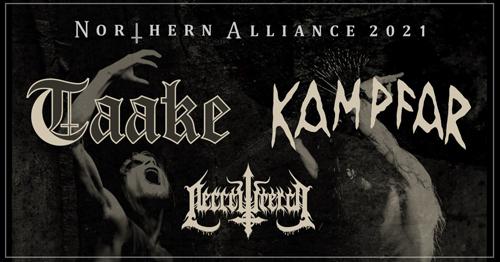 Live: TAAKE, KAMPFAR, NECROWRETCH