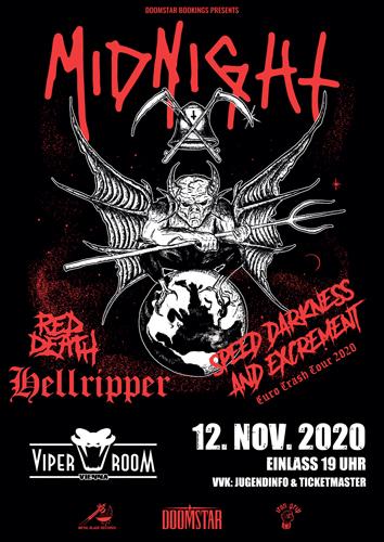 Live: MIDNIGHT, RED DEATH, HELLRIPPER