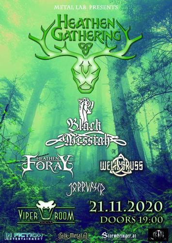 VERSCHOBEN auf 25.9.2021!!  HEATHEN GATHERING - Folk & Pagan Metal Festival