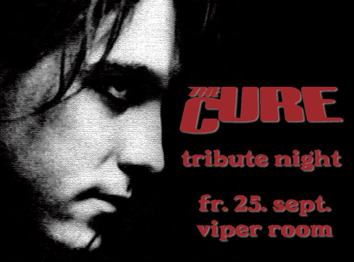 THE CURE TRIBUTE NIGHT