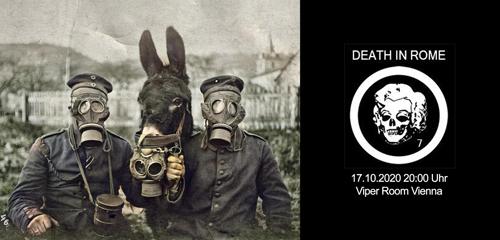 VERSCHOBEN 10.12.2020! DEATH IN ROME