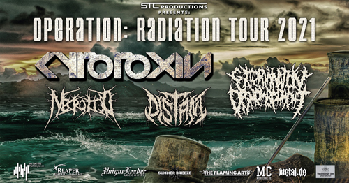 Live: CYTOTOXIN, EXTERMINATION DISMEMBERMENT, DISTANT, NECROTTED