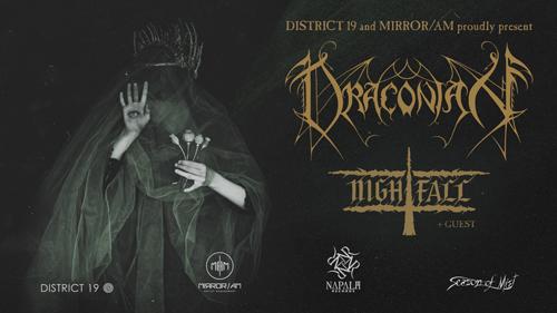 Live: DRACONIAN, NIGHTFALL & GUEST