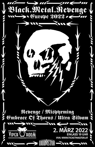 Live: REVENGE, MISTHYRMING, EMBRACE OF THORNS, ULTRA SILVAM