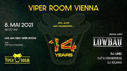14 JAHRE VIPER ROOM VIENNA
