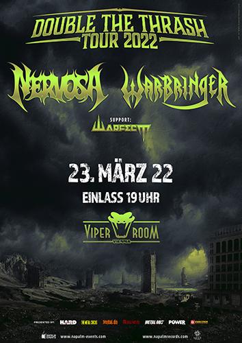 Live: NERVOSA, WARBRINGER, WARFECT