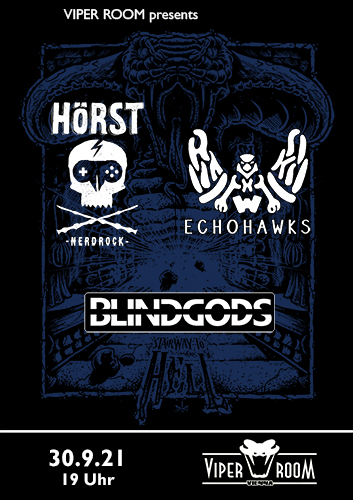Live: HÖRST, BLINDGODS, ECHOHAWKS