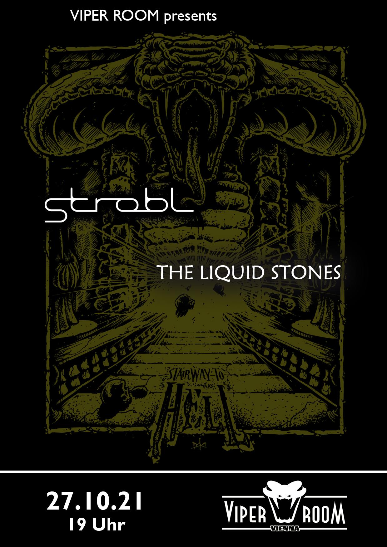 Live: STROBL, EASTWOOD HAZE, THE LIQUID STONES