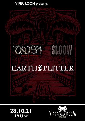 Live: TAISH, EARTHSPLITTER, SLOOW
