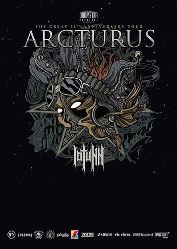 Live: ARCTURUS, IOTUNN
